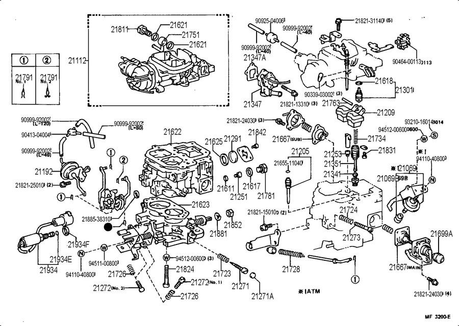 1987 toyota pickup engine rebuild kit