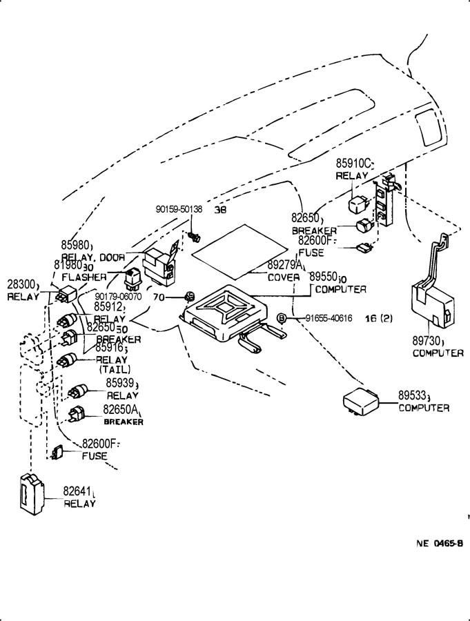 1988 ae92 toyota corolla wiring diagram