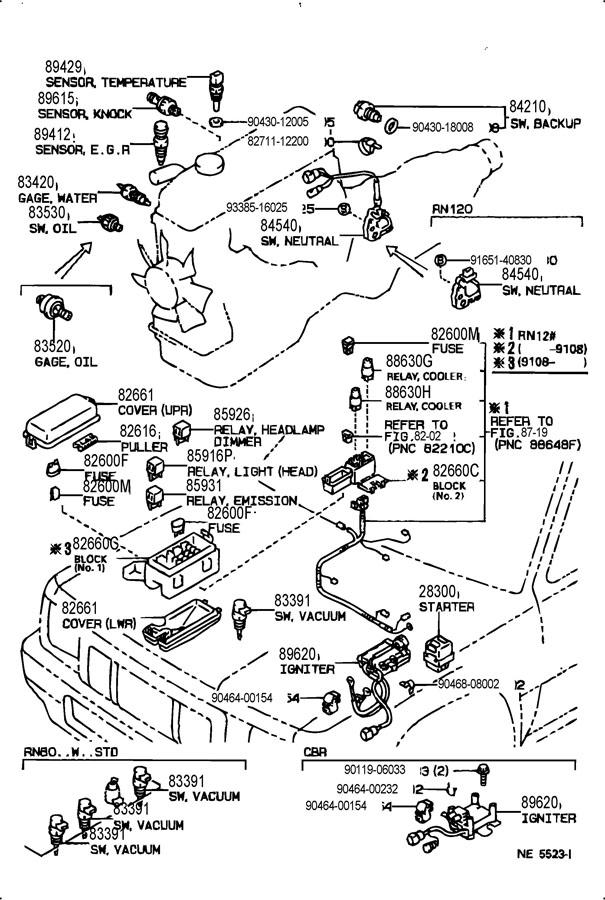 2000 toyota 4runner belt diagram wiring schematic