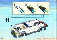 LEGO 7245-2 Prisoner Transport - Blue Sticker Version Set ...