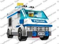 LEGO 7286 Prisoner Transport Set Parts Inventory and ...