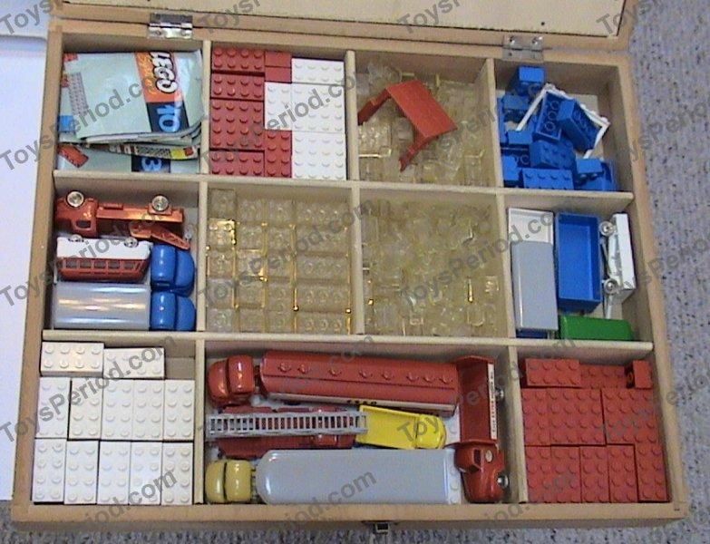 Lego 822 2 Wooden Storage Box Medium Single Latch With