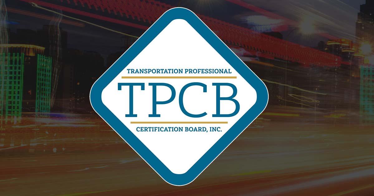 Home - Transportation Professional Certification Board