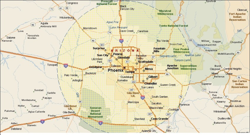 Phoenix AZ 50 Mile Radius tph mechanical 2