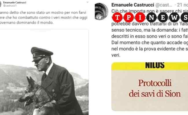 Emanuele Castrucci Professore A Siena Elogia Hitler E
