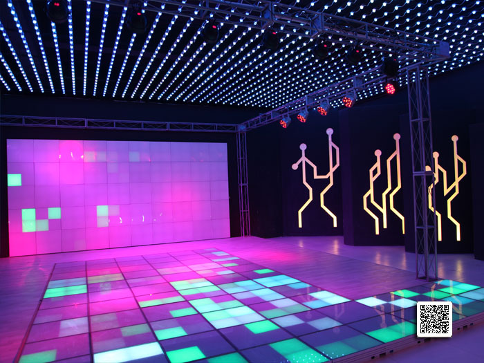 Exhibition Hall No5 Waterproof High Power Dmx Led Wall