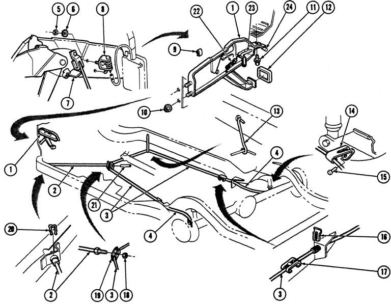 68 camaro parking brake diagram chevy 3uboj
