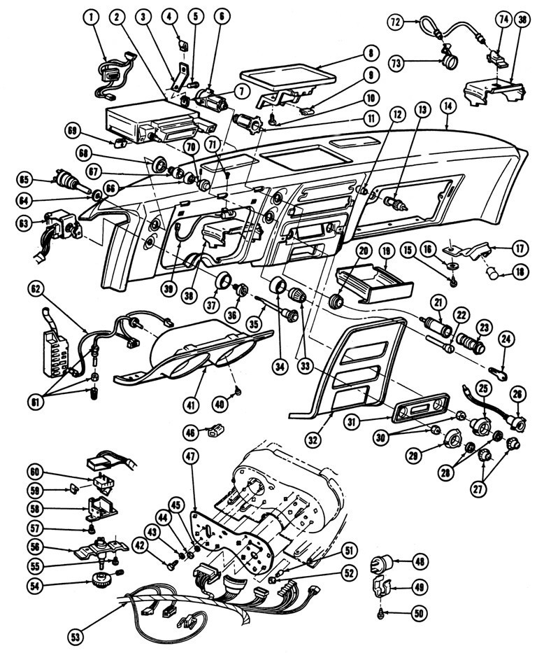 65 Mustang Dash Wiring - Best Place to Find Wiring and Datasheet