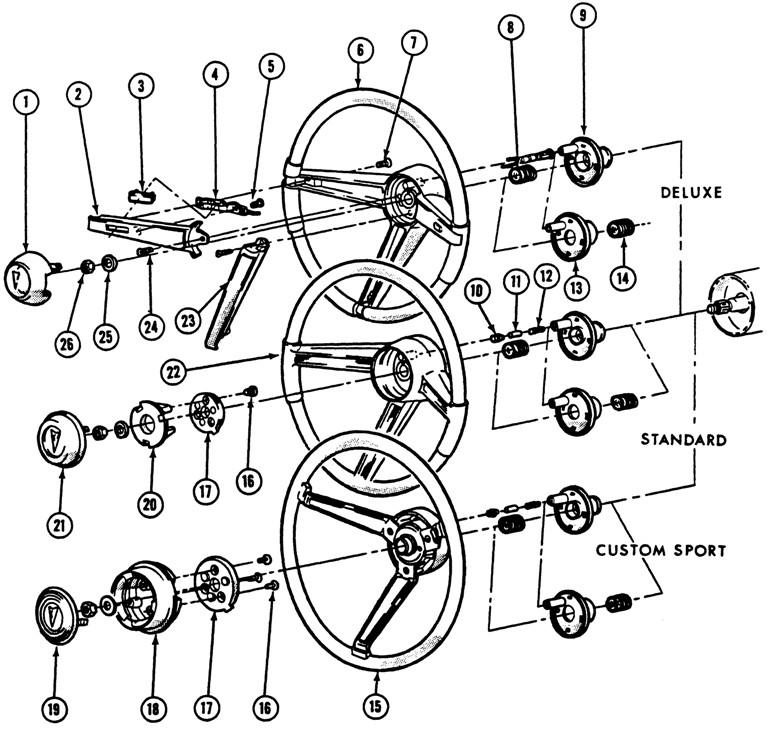 68 gm steering column wiring diagram
