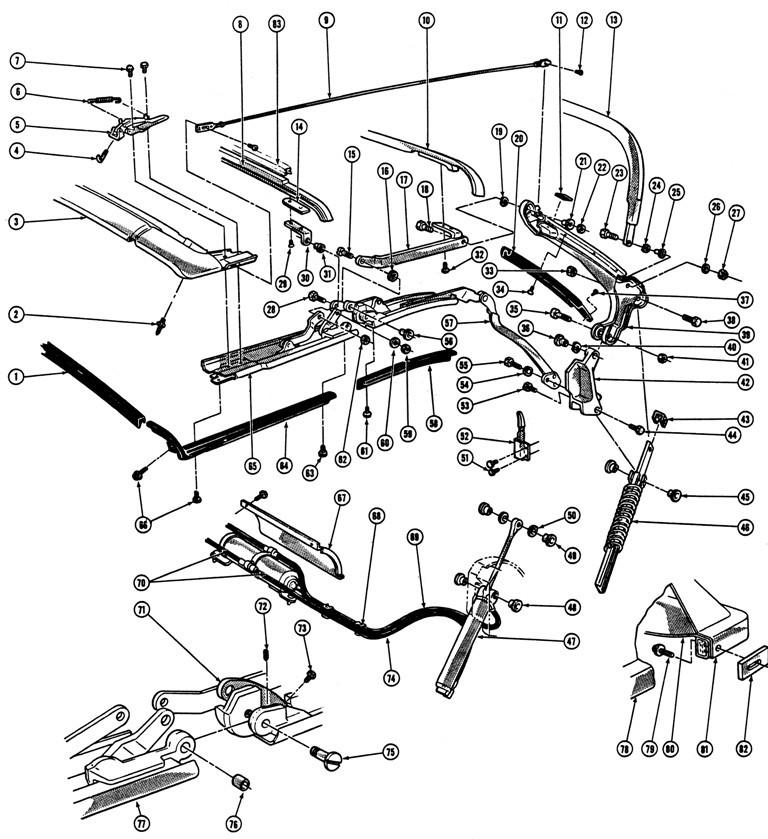 1967 vw Motor diagram