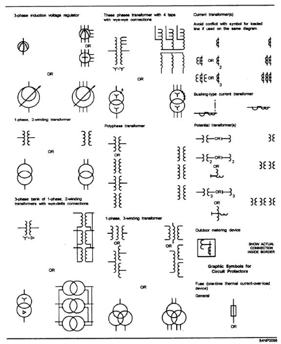 electrical drawing reading