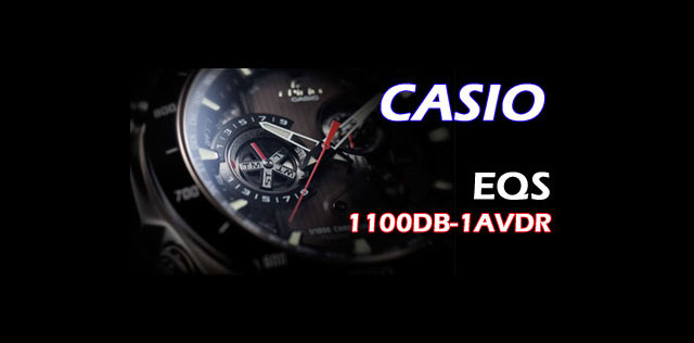 Casio EQS-1100DB - 1AVDR