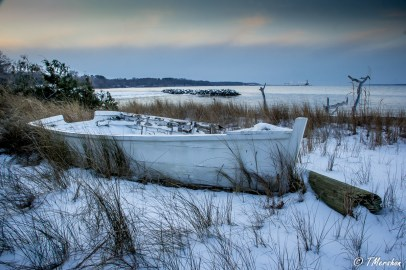 Abandoned Boat on the York Rive