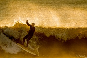 Surfing the Gold