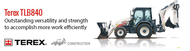 Digging, Reaching, Lifting and Loading: The Terex TLB840 Backhoe Loader is engineered to excel