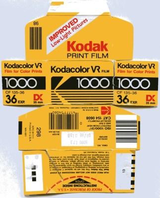 Small Ideas Become Big Kodak Film Box