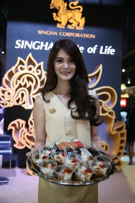 noone is hungry at Thaifex 2015