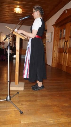 JHV am 28.02.20 Röckefrauenvertreterin Traudi Messerer