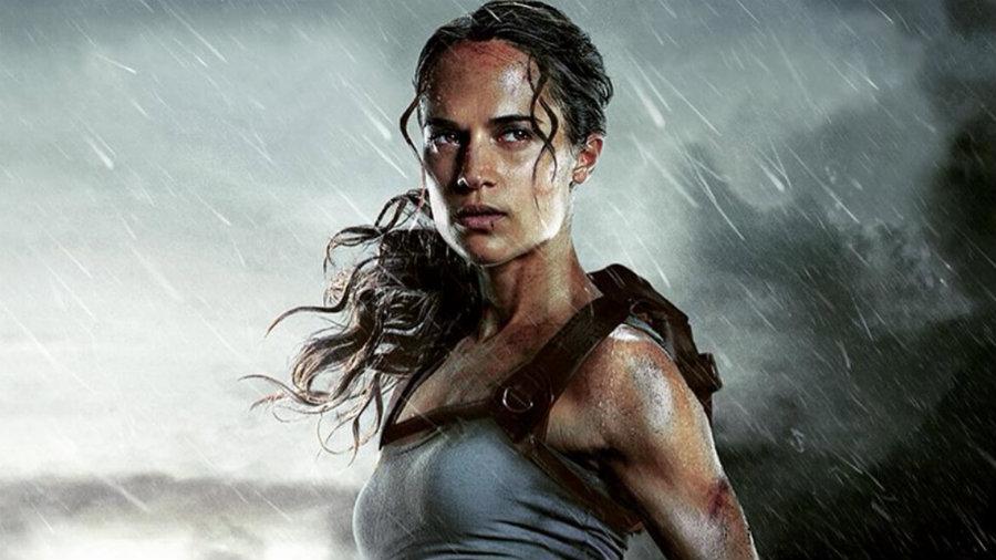 All Black Wallpaper Tomb Raider Review Alicia Vikander Delivers As A More