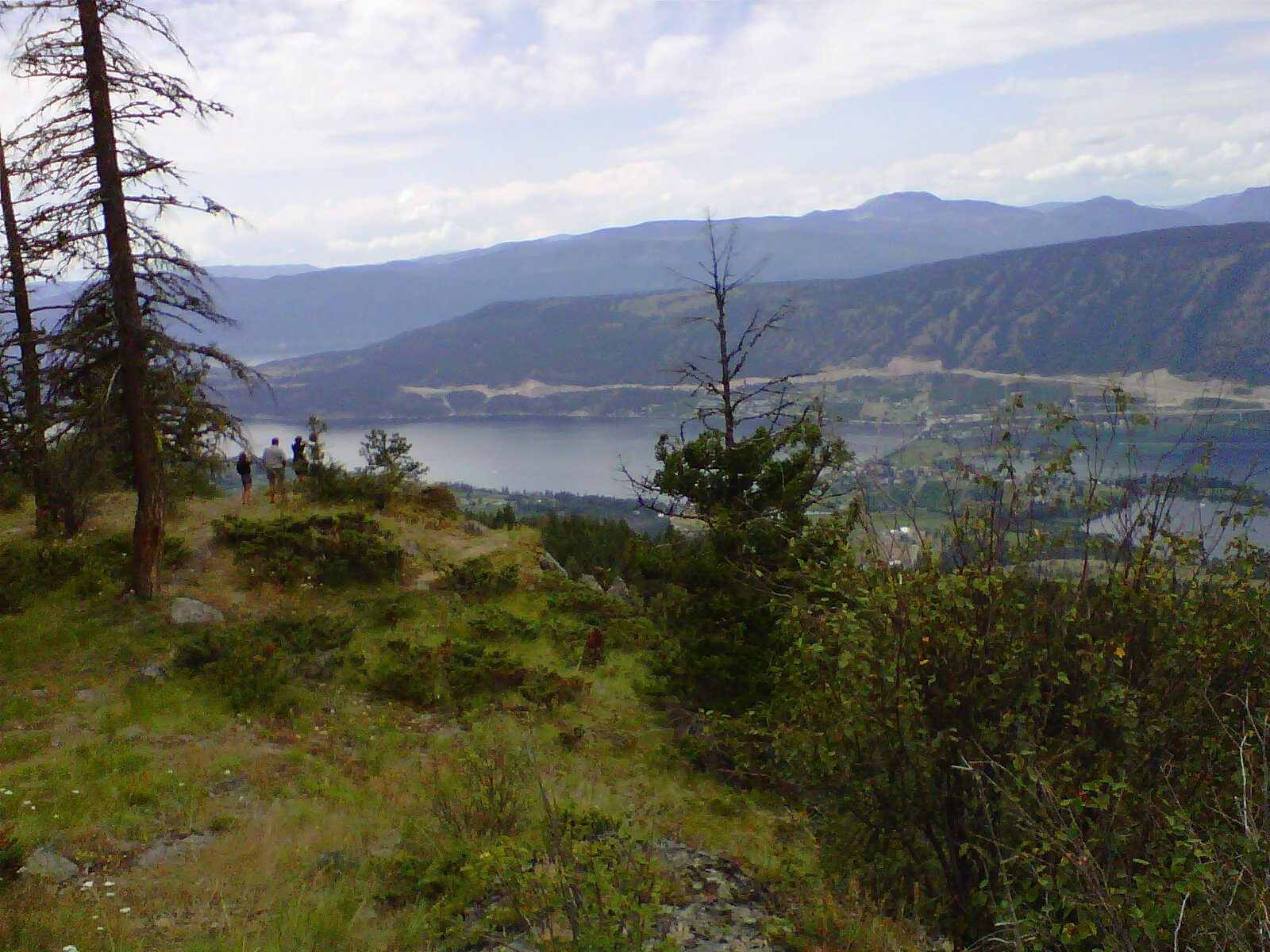 Oyama Point from Oyama Lake Road