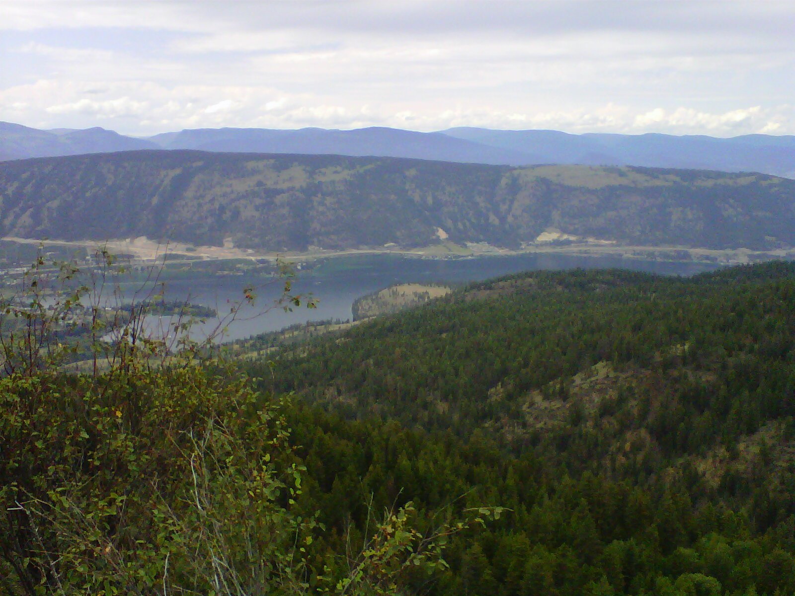 Oyama Point from Oyama Lake Road - The best Place to be near Oyama