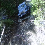 4x4 on the Okanagan Highlands Trail