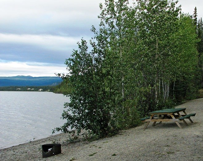 Yukon government campgrounds