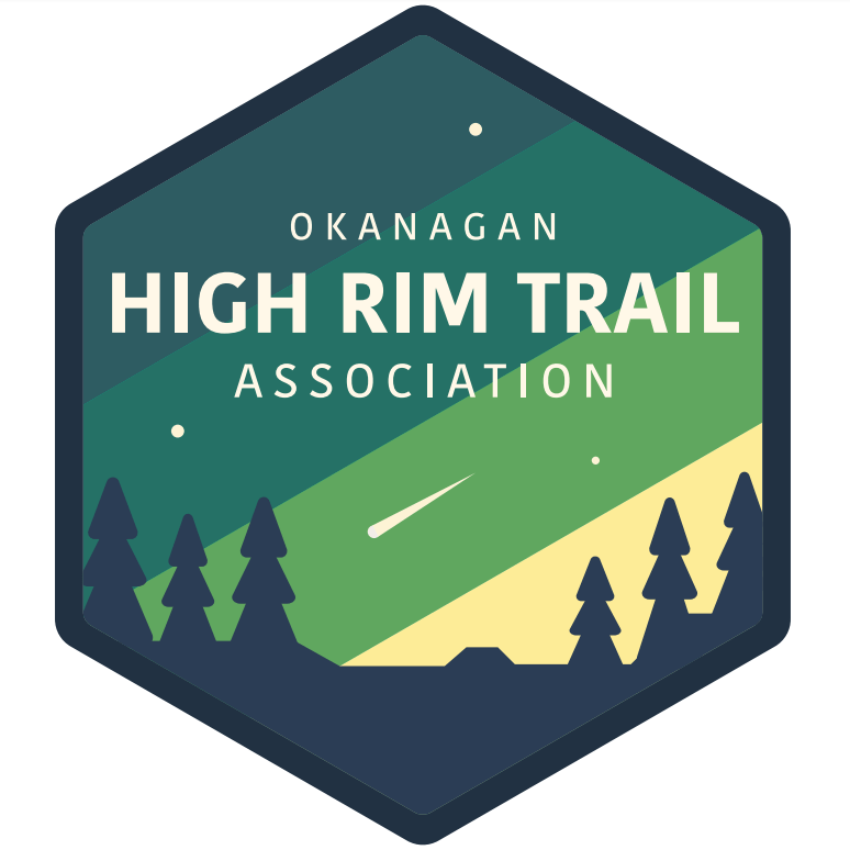 High Rim Trail Logo