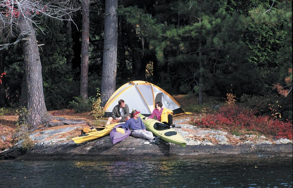 tent and campers free camping on bc lakes and islands