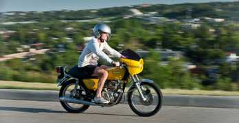 kawasaki kz200 cafe racer bike
