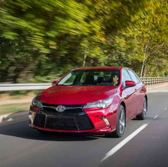 First Drive: 2015 Toyota Camry Review