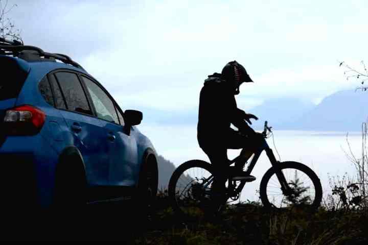 Rally Car Driver and Pro Mountain Bike Freerider Brandon Semenuk X 2016 Subaru Crosstrek in New Video