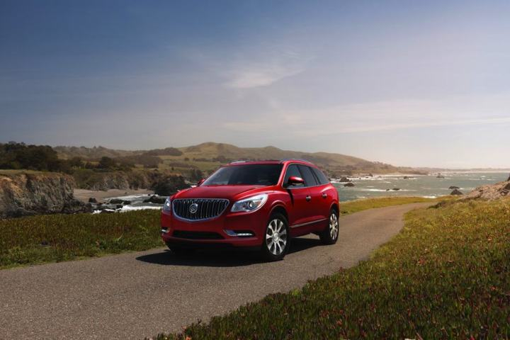 Buick's mid-size luxury SUV adds style with the 2017 Enclave Sport Touring Edition