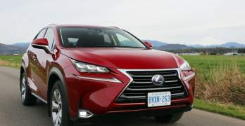2016 Lexus NX 300h Review: Bold Styling, Crowded Segment