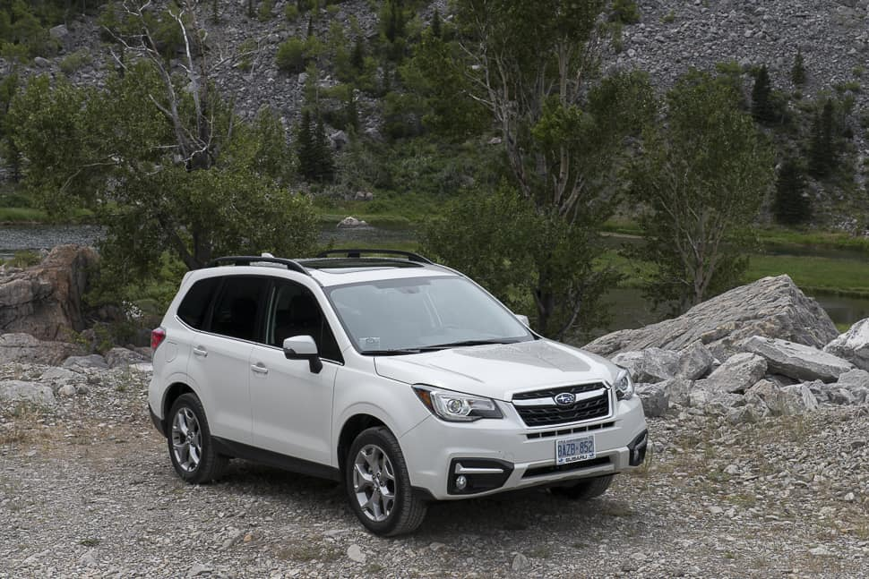 Beautiful First Drive New 2017 Subaru Forester Explores The Cowboy