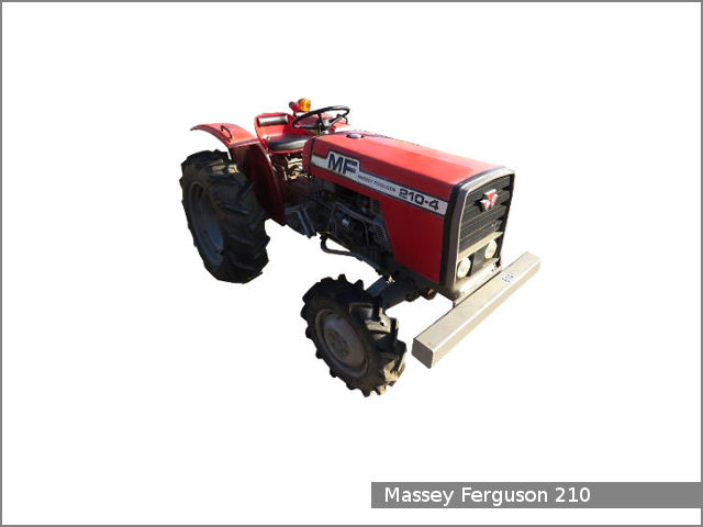 Massey Ferguson 210 / 210-4 tractor review and specs - Tractor Specs