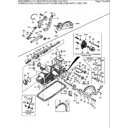 ford 3000 tractor ledningsdiagram