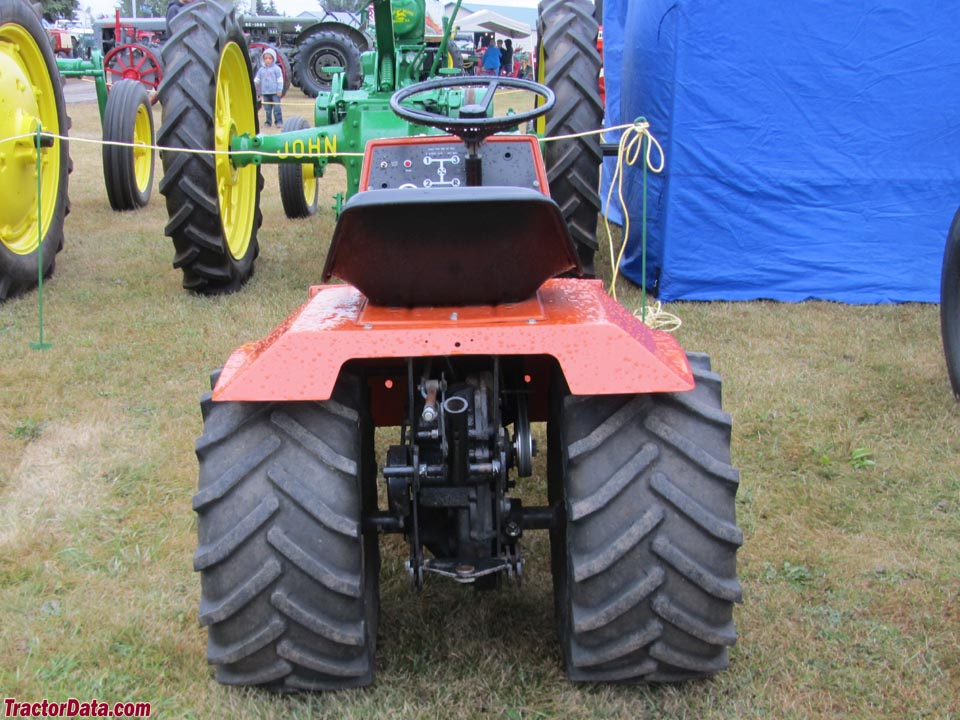 Allis Chalmers 410 Garden Tractor Wiring Schematic Diagram