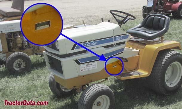 TractorData Cub Cadet 1450 tractor information