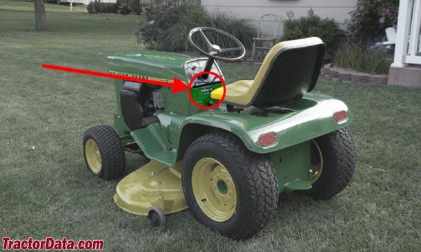 TractorData John Deere 112 tractor information