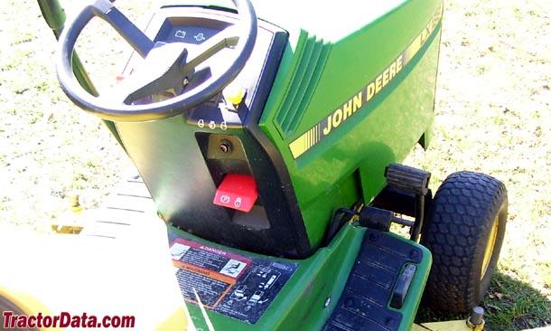 TractorData John Deere LX188 tractor transmission information