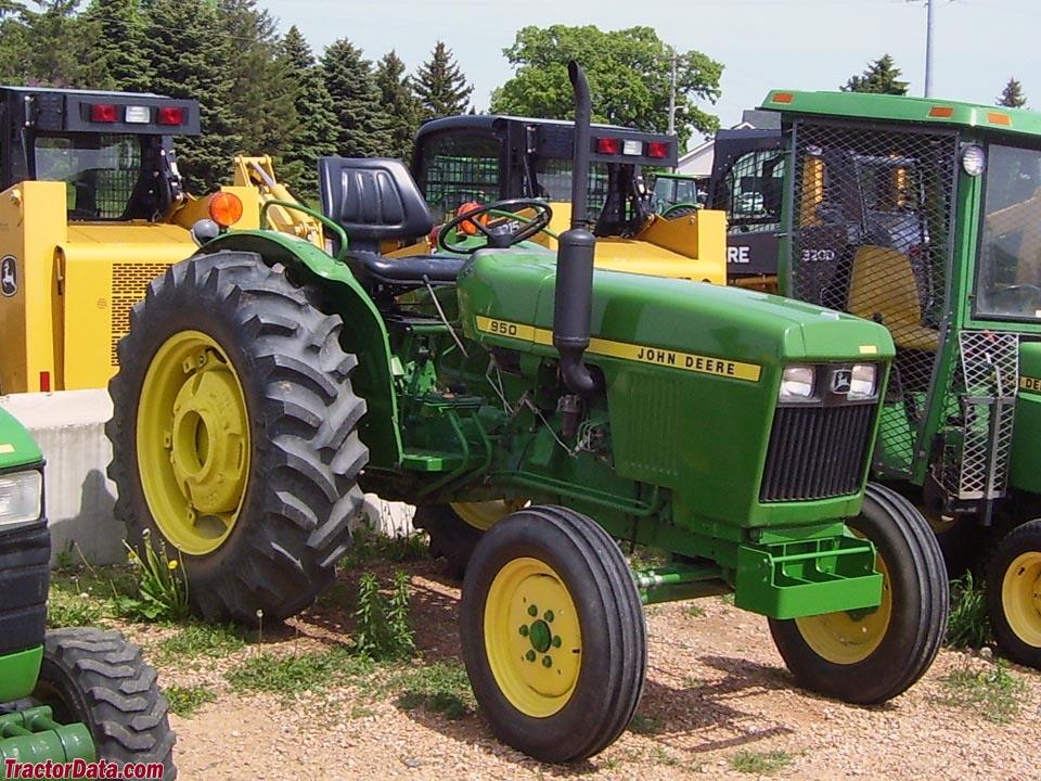 TractorData John Deere 950 tractor photos information