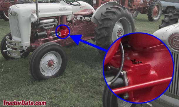 TractorData Ford 850 tractor information