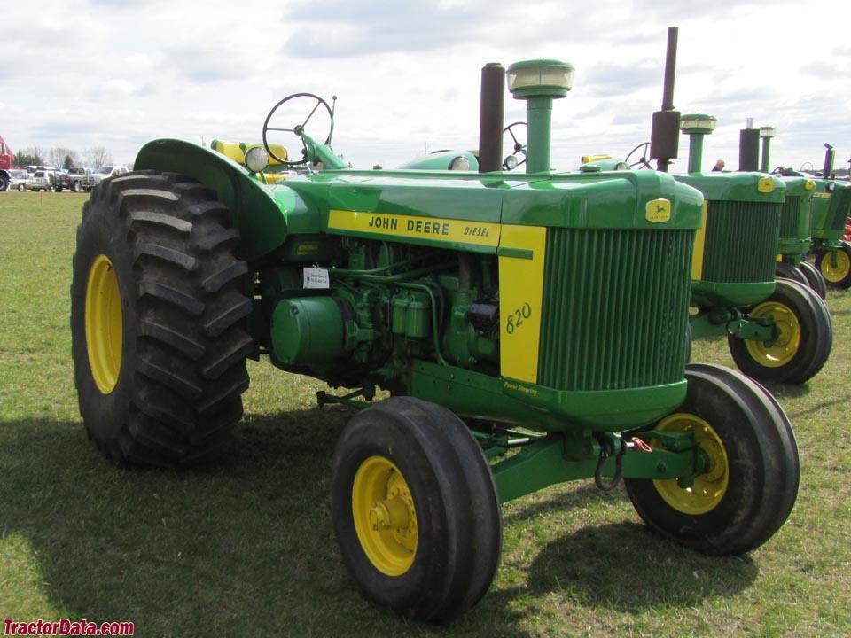 TractorData John Deere 820 tractor photos information