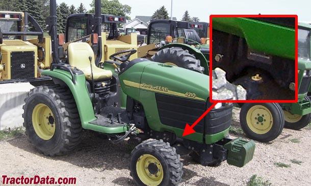 TractorData John Deere 4410 tractor information