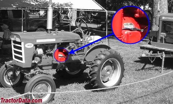 TractorData Farmall 140 tractor information