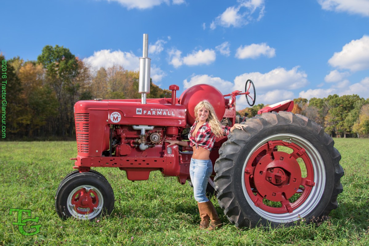Red Brand New Farmall Tractors : October tractor glamour