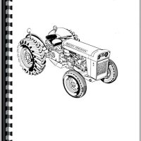 Massey Ferguson 203 Industrial Tractor Parts Manual