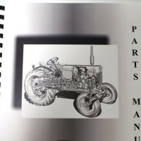 Misc. Tractors Ariens PRM-10000 1964-74 10000 Series Tractor & Sno-Thro Attachment Parts Manual