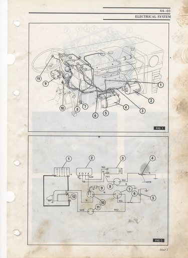 Wire diagram for MF180 - Yesterday\u0027s Tractors